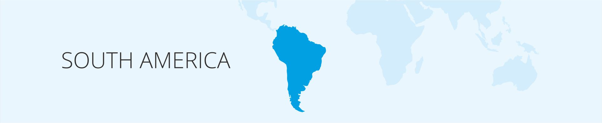 world South America
